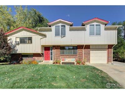 Boulder Single Family Home For Sale: 1017 Vivian Cir