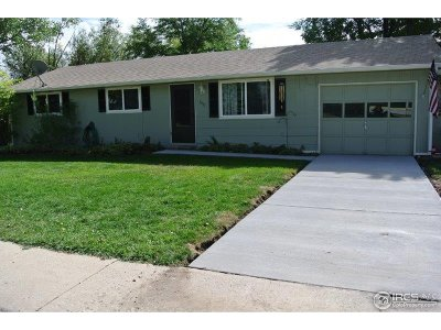 Berthoud Single Family Home For Sale: 1037 7th St