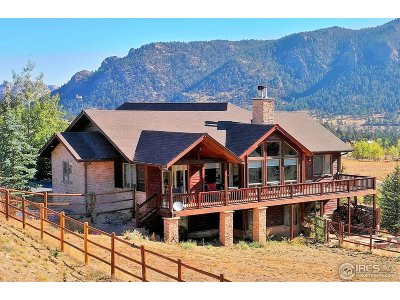 Estes Park Single Family Home Active-Backup: 335 Saddleback Ln