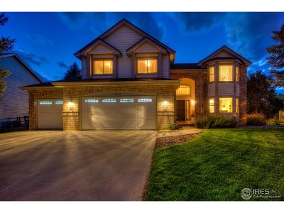 Fort Collins Single Family Home For Sale: 6201 Pheasant Ct