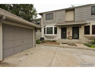 Longmont Condo/Townhouse For Sale: 2249 Emery St #D