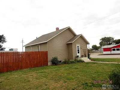 Haxtun Single Family Home For Sale: 538 S Colorado Ave