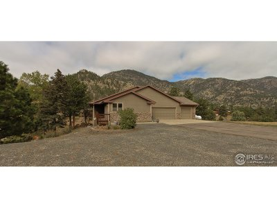 Lyons CO Single Family Home For Sale: $749,000