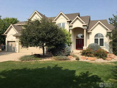 Fort Collins Single Family Home Active-Backup: 7414 Couples Ct
