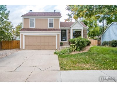 Fort Collins Single Family Home For Sale: 4219 Goldeneye Dr