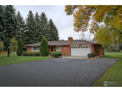Longmont Single Family Home For Sale: 9682 Schlagel St