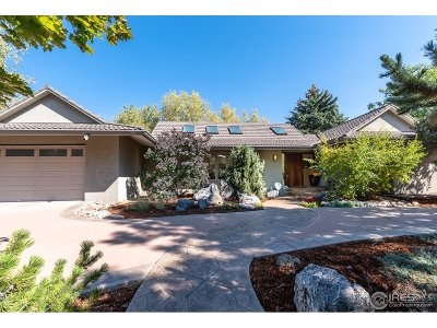 Boulder CO Single Family Home For Sale: $1,445,000