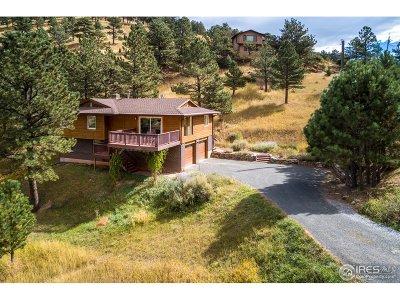 Boulder Single Family Home Active-Backup: 630 N Cedar Brook Rd