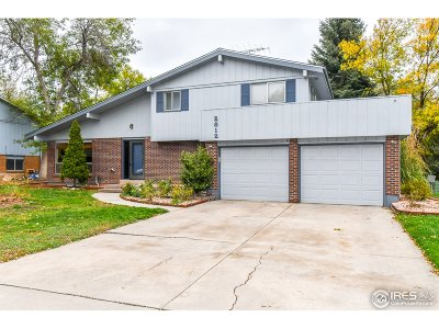 Fort Collins Single Family Home For Sale: 2812 Ringneck Dr