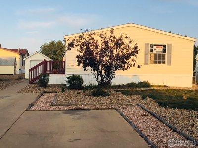 Firestone CO Single Family Home For Sale: $78,500