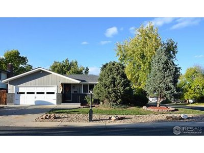 Longmont Single Family Home For Sale: 1302 Horizon Ln