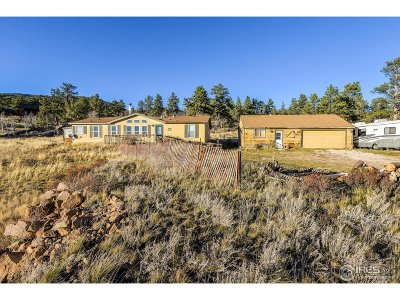 Red Feather Lakes Single Family Home For Sale: 408 Navajo Rd