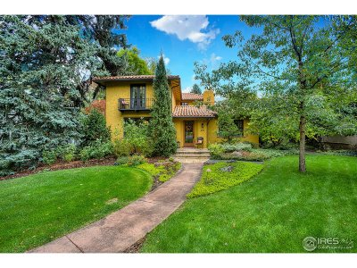 Fort Collins Single Family Home For Sale: 210 Jackson Ave