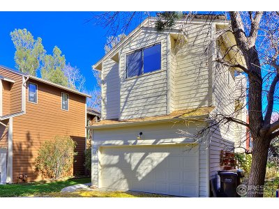 Boulder CO Single Family Home For Sale: $635,000