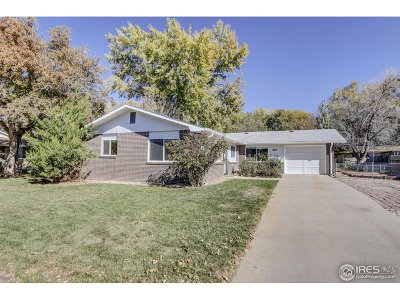 Longmont Single Family Home For Sale: 1806 Jewel Dr
