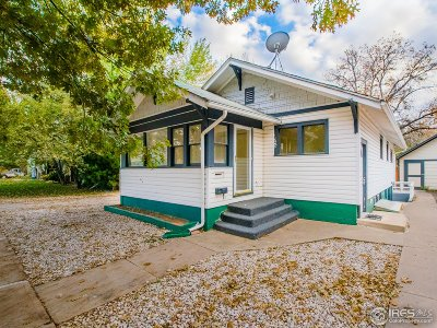 Single Family Home For Sale: 605 Edwards St