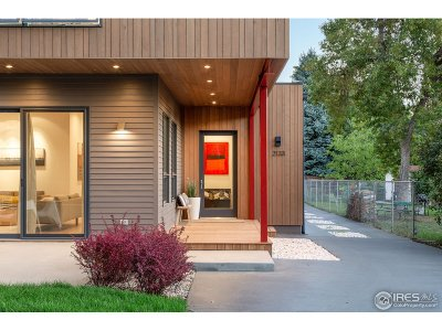 Boulder CO Single Family Home For Sale: $2,395,000