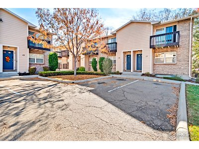 Longmont Condo/Townhouse For Sale: 1346 Sunset St #13