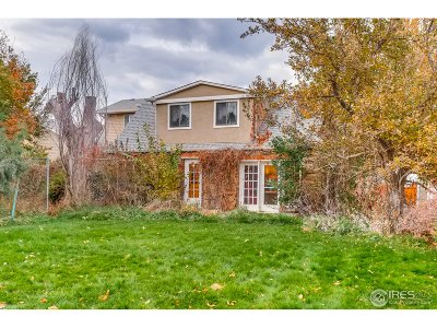 Boulder CO Single Family Home For Sale: $1,330,000