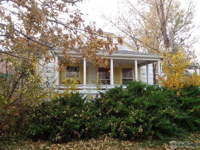 Berthoud Single Family Home For Sale: 121 Mountain Ave