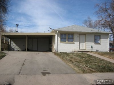 Greeley Multi Family Home For Sale: 2539 10th Ave Ct