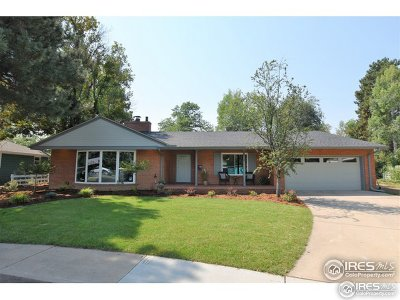 Fort Collins Single Family Home For Sale: 1513 Lakeside Ave
