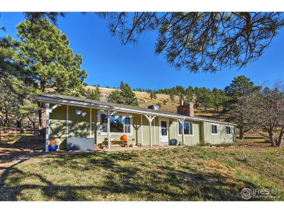 Boulder Single Family Home For Sale: 5384 Olde Stage Rd