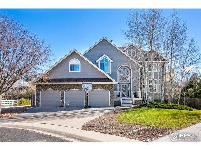 Boulder Single Family Home For Sale: 5232 Desert Pine Ct