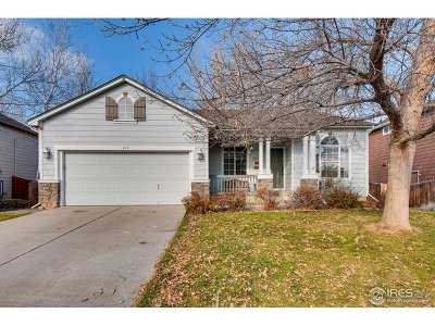 Longmont Single Family Home For Sale: 814 Timothy Dr