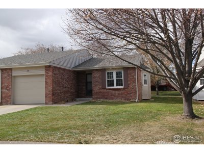 Greeley Condo/Townhouse For Sale: 3950 W 12th St #38