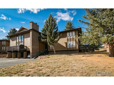 Estes Park Condo/Townhouse For Sale: 1121 Fairway Club Cir #4