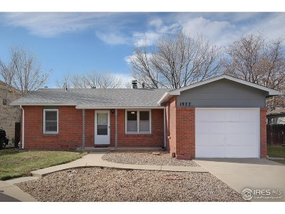 Longmont Single Family Home For Sale: 1977 Carr Ct