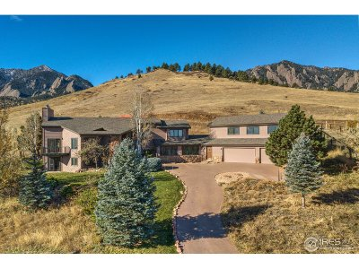 Boulder Single Family Home For Sale: 2100 Goddard Pl