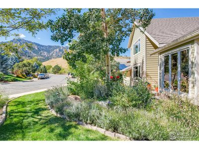 Boulder Single Family Home For Sale: 1965 Stony Hill Rd