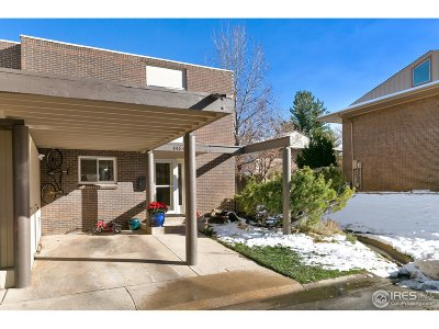 Boulder CO Condo/Townhouse For Sale: $625,000
