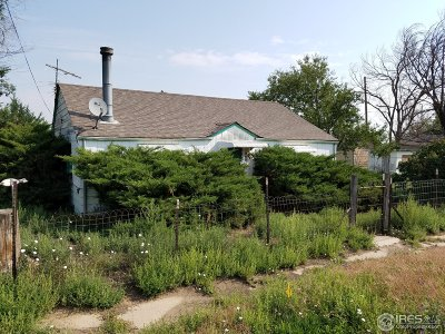 Weld County Single Family Home For Sale: 805 Main St