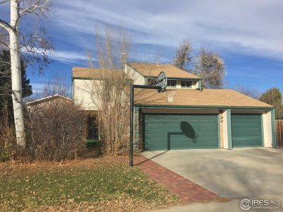 Longmont Single Family Home For Sale: 2302 Judson St