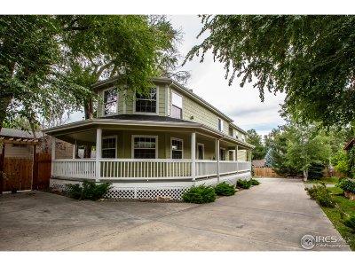 Boulder Single Family Home For Sale: 1190 Oakdale Pl