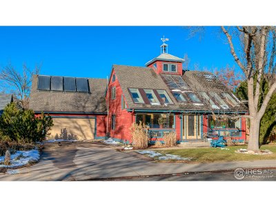 Boulder Single Family Home For Sale: 1415 Patton Dr