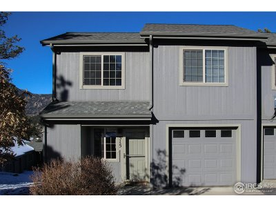 Estes Park Condo/Townhouse For Sale: 515 Saint Vrain Ln