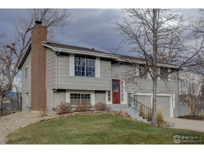 Boulder Single Family Home For Sale: 4765 Greylock St