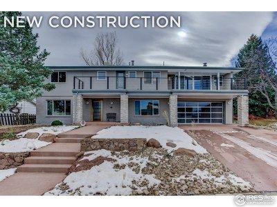 Boulder Single Family Home For Sale: 2250 Vassar Dr