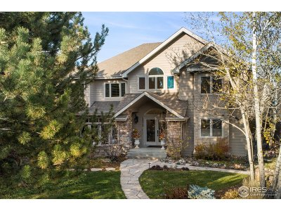 Boulder CO Single Family Home For Sale: $1,900,000