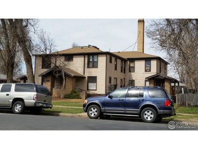 Greeley Multi Family Home For Sale: 1213 12th St