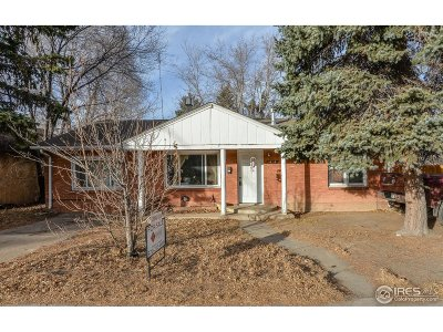 Fort Collins Single Family Home For Sale: 414 E Prospect Rd