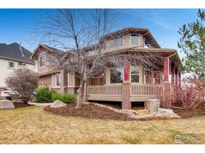 Longmont Single Family Home For Sale: 1834 Wasach Dr