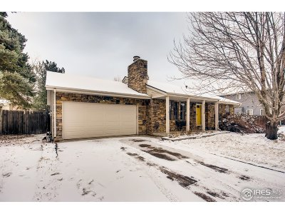 Fort Collins Single Family Home For Sale: 2118 Manchester Dr