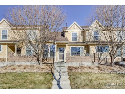 Fort Collins Condo/Townhouse For Sale: 2764 Rock Creek Dr