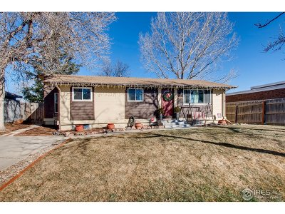 Broomfield Single Family Home For Sale: 110 Pine Way