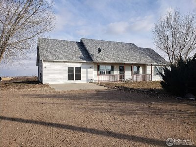 Kersey Single Family Home For Sale: 23916 County Road 55